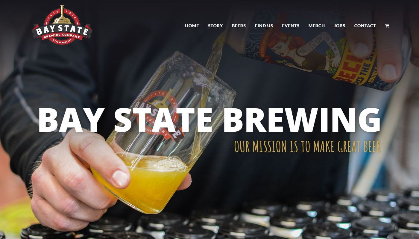 Bay State Brewing Web Design Agency Worcester MA
