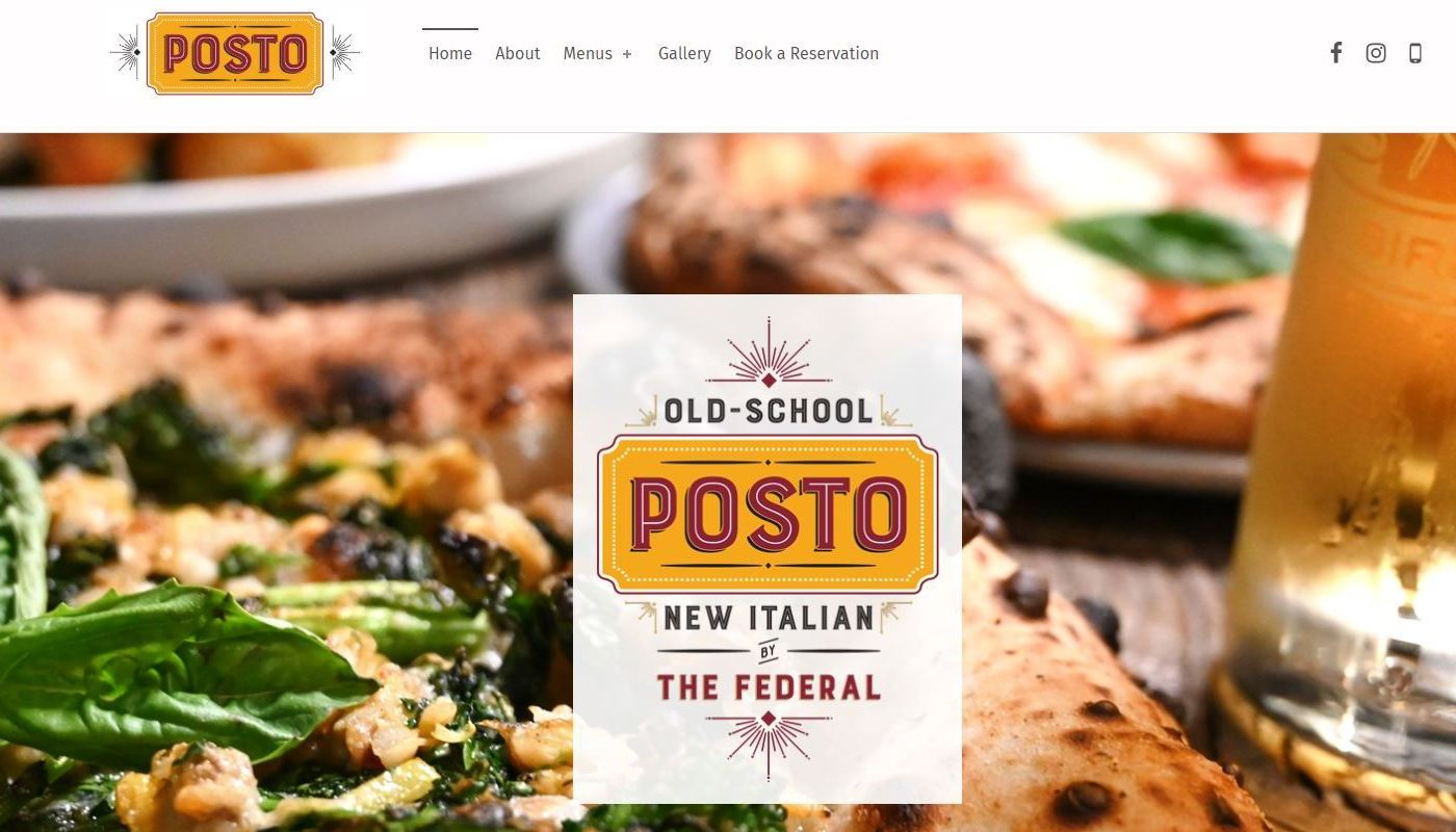 Posto WordPress Website Design Longmeadow MA