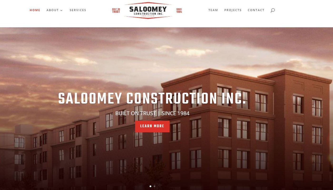 Saloomey WordPress Website Design Otis MA