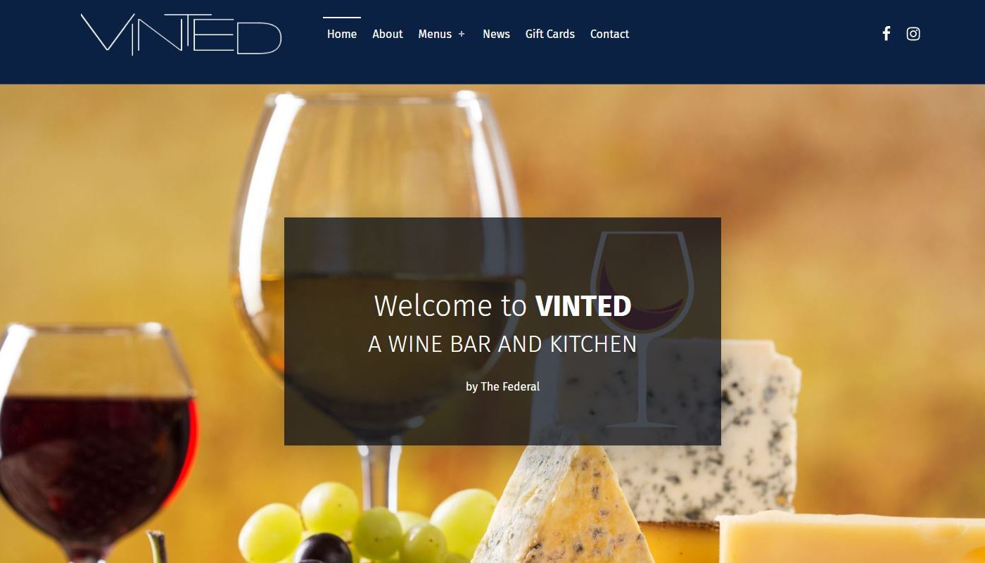 Restaurant Web design Western MA and CT